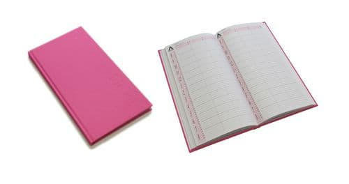 Appointment Book 3 Assistant Pink