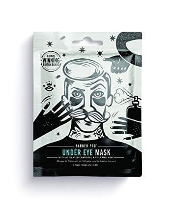 Barber Pro Under Eye Mask with Activated Charcoal and Volcanic Ash