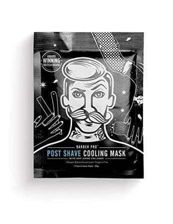 BarberPro Post Shave Cooling Mask with Anti-Ageing Collagen