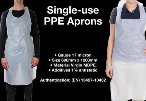 Disposable PPE Aprons, 500