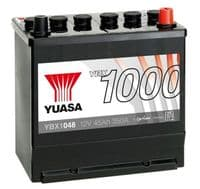 048 Car Battery Yuasa YBX1048 Replaces Bosch S3 016