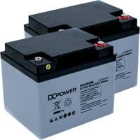 12v 50Ah Mobility Scooter Batteries DC Power