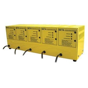 Beta Multi-bank five way battery charger 12 volt 4 amp