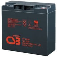 CSB GP12200 battery 12V 20Ah