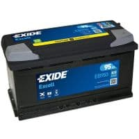 EB950 Exide Excell Car Battery 95Ah 800A Type 019