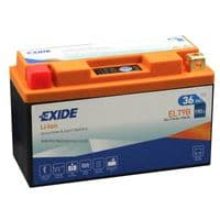 ELT9B Exide Li-Ion Lithium Motorbike Battery - Replaces YT9B-BS YT7B-BS