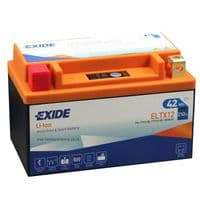 ELTX12 Exide Li-Ion Lithium Motorbike Battery - Replaces YTX12-BS YTX12A-BS YB12B-B2