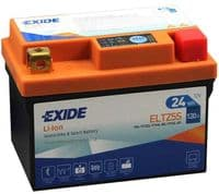 ELTZ5S Exide Li-Ion Lithium Motorbike Battery - Replaces YTX4L-BS YTX5L-BS YTZ5S