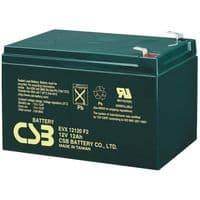 EVX12120 F2 CSB Battery 12v 12Ah