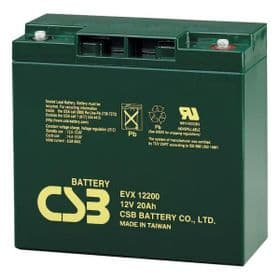 EVX12200 CSB Battery 12v 20Ah