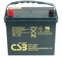 EVX12520 CSB Battery 12V 52Ah Batteries