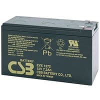 EVX1272 F2 CSB Battery 12v 7.2Ah Batteries