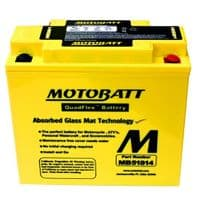 MB51814 Motobatt AGM Motorcycle Battery - Replaces 51913, 51814 and GEL12-19
