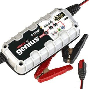 NOCO Genius G15000UK 12V and 24V 15 Amp Pro-Series Smart Battery Charger and Maintainer