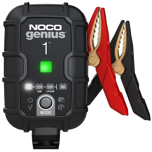 Noco Genius1 1 Amp Battery Charger, Maintainer, and Desulfator