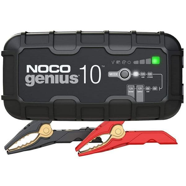 Noco Genius10 Battery Charger, Maintainer, and Desulfator 10 Amp