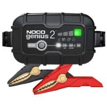 Noco Genius2 2 Amp Battery Charger, Maintainer, and Desulfator