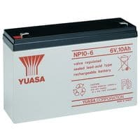 NP10-6 Yuasa 10Ah 6v sealed lead acid battery