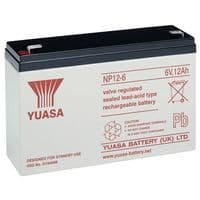 NP12-6 Yuasa 12Ah 6v sealed lead acid battery