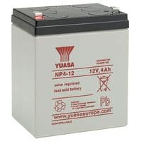 NP4-12 Yuasa 4Ah 12v sealed lead acid battery