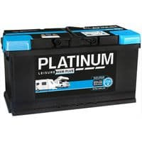 Platinum 12v 100Ah AGM Leisure Battery (NCC Approved Class A)