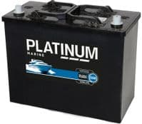 Platinum 12v 125Ah Leisure Marine Battery 6135CM