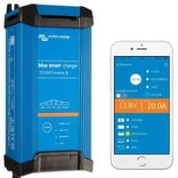 Victron Blue Smart IP22 Bluetooth Battery Charger - 12V 20A, 3 outputs