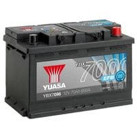 Yuasa YBX7096 EFB Start Stop Car Battery 12V 70Ah 650A