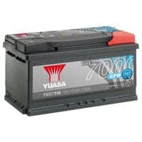 Yuasa YBX7110 EFB Start Stop Car Battery 12V 75Ah 730A