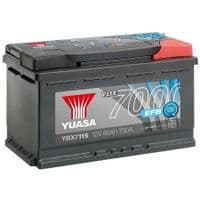 Yuasa YBX7115 EFB Start Stop Car Battery 12V 80Ah 730A